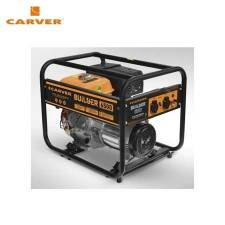 Petrol power generator CARVER PPG-6500 BUILDER Power home appliances Backup source during power outages Benzine power stations
