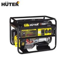Electric generator HUTER DY8000LX Power home appliances Backup source during power outages Benzine power stations